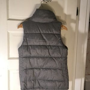 Old Navy puffy vest fleece lined